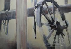 """Western"" Acryl on Canvas 100 cm x 80 cm"
