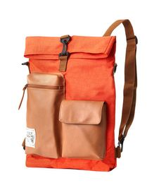 Slander City Backpack (Orange) on Etsy, $69.90