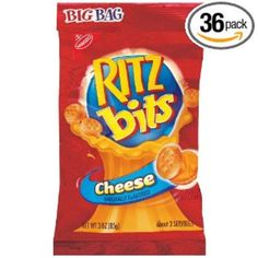 ritz bitz cheese big bag 3 oz Case of 12 Peanut Butter Crackers, Ritz Crackers, Ritz Bits, Junk Food Snacks, Cheese Spread, Recipes From Heaven, Candy Store, Food Packaging, Bite Size