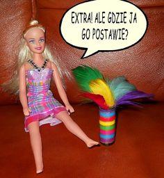 Meble dla Barbie - zrób je sam: od pomadki do kolorowego wazonu