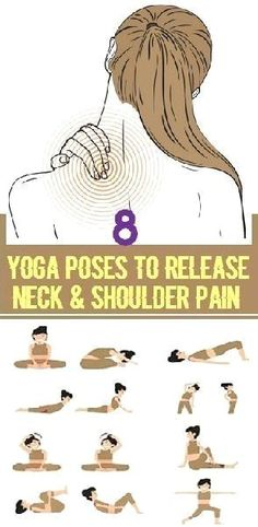 Yoga Poses to Release Neck and Shoulder Pain | Posted By: CustomWeightLossProgram.com http://www.yogaweightloss.net/best-yoga-position/ #HealthandFitness #YogaRoutinesandPoses