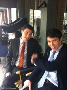 John Francis Daley and Ryan Cartwright...my two favorite people! ...now if only Eric Millegan was in the picture too
