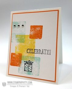 January 23, 2013 Stampin' Pretty Stampin' up! Clear Block Stamping & NEW Video - Best of Birthdays is the first release for 2013!