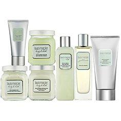Laura Mercier Crème de Pistache Bath & Body Collection........... love, love, love!!! Amazing Fragrance!!!