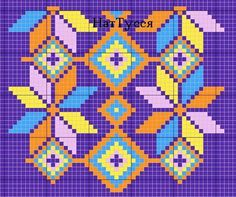 Beaded Crochet Bags – New Cheap Bags Tapestry Crochet Patterns, Bead Loom Patterns, Crochet Stitches Patterns, Crochet Chart, Bead Crochet, Crochet Motif, Diy Crochet, Beading Patterns, Cross Stitch Patterns