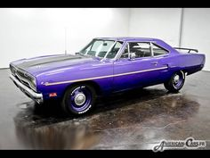 1970 plymouth roadrunner | PLYMOUTH ROAD RUNNER 1970 [Voiture d'importation American-Cars]