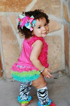 SET- The Wild Child Bloomer Set-wholesale rainbow infant set