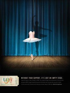 United Performing Arts Fund: «Без вашего участия сцена будет пустой».