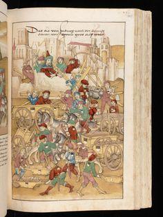 Bern, Burgerbibliothek / Mss.h.h.I.16 – Diebold Schilling, Spiezer Chronik / p. 545