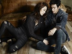 Lee Min Ho's 3rd Batch Of GUESS JEANS F/2 2014 Ads | Couch Kimchi