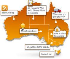 Moving to Australia: Living in Australia – All About Emmigrating. Hello Australia, Australia Visa, Moving To Australia, Australia Living, Australia Travel, Melbourne, Sydney, Living On The Road, Land Of Oz