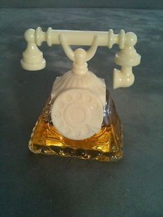 VINTAGE AVON PERFUME SCENT BOTTLE TELEPHON.  Shop today's avon with me at www.youravon.com/jessicamanning