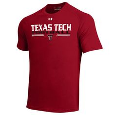 Texas Tech Red Raiders Under Armour On-Field Football Sideline Tech Performance…