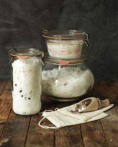 DIY bath salts, on Design*Sponge.