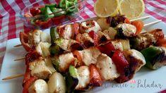 Rollitos de pollo rellenos de jamón y queso - El dulce paladar Cool Kitchens, Pasta Salad, Potato Salad, Chicken Recipes, Potatoes, Meat, Dinner, Ethnic Recipes, Food