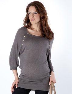 Button Down Nursing Sweater. So cute!