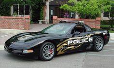 Chevrolet Corvette police car