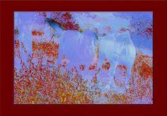 'Zwei Pferde pp' von Rudolf Büttner bei artflakes.com als Poster oder Kunstdruck $18.71