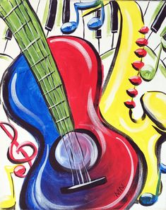 Music in Color painting