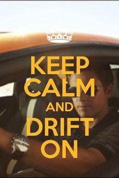 Tanner Foust :).... Favorite driver EVER!!!