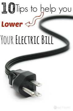 Find out how these 10 tips can help you to lower your electric bills every month!