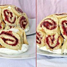 Málnás charlotte torta Szofika konyhájából