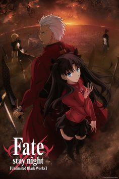 "Fate/stay night Fuyuki City—a city surrounded by the ocean and the mountains becomes the setting for an age-old ritual. To realize the mythical Holy Grail, which is said to grant any wish from its possessor, seven masters are given seven heroic spirits chosen by the Grail... Each master will enter into a contract with their assigned servants and battle the other masters and servants to the death until only one pair remains… This is the ""Holy Grail War."""
