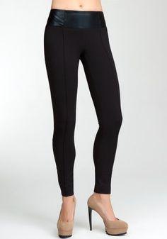 bebe Corset Contrast Top Legging bebe. $88.99