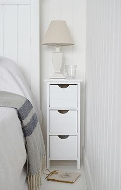 Best 22 Best Slim Narrow Bedside Tables Images In 2020 White 640 x 480