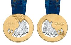 """Sochi 2014 Unveils Olympic Medals"" -- Click through for more photos and detailed descriptions."