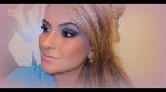 Maquiagem profissional por Alice Salazar (técnica da Kryolan)