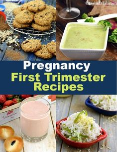 What foods to eat during your first trimester? recipes Indian Diet pregnancy 4 month in hindi - Pregnancy Healthy Food List, Healthy Foods To Eat, Healthy Snacks, Healthy Recipes, Healthy Kids, Healthy Muffins, Food During Pregnancy, Healthy Pregnancy Food, Pregnancy Foods