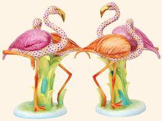 Herend Flamingos