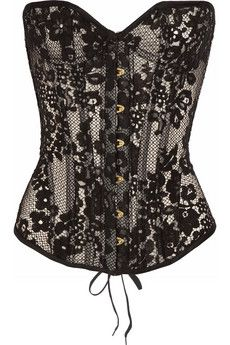 Agent Provocateur                                  Janey underwired lace corset