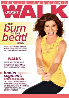 Leslie Sansone: Burn to the Beat BRAND NEW Fitness cardio walking - leslie sansone Calories Burned Walking, Leslie Sansone, Weight Loss Eating Plan, Workout Music, Workout Dvds, Workout Plans, Walking Exercise, Yoga Videos, Exercise Videos