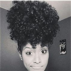 How can I make my natural hair do this? ?! Gorgeous