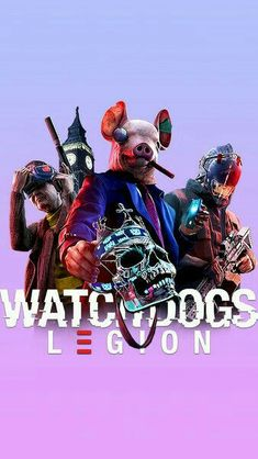 Watch Dogs Legion HD Mobile, Smartphone and PC, Desktop, Laptop wallpaper resolutions. Laptop Wallpaper, Wallpaper Backgrounds, Watchdogs 2, Diesel Watches For Men, What Dogs, Skateboard Art, Gta 5, Dog Pictures, Hello Kitty
