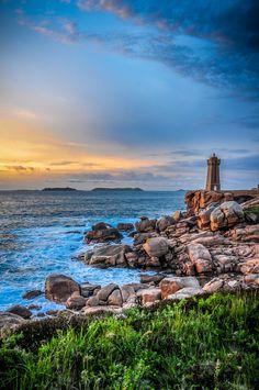 Ploumanach lighthouse by Xavier Ambrosioni on 500px