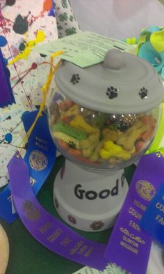 My daughter's 4H project she got 1st place and is going to the state fair!