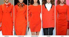 Blood Orange - Fashion Trend Fall/Winter 2014-2015