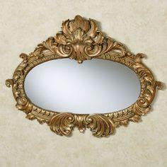 Bridgette Verdi Gold Wall Mirror