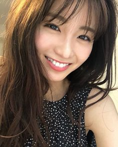 Japan Model, First Girl, Asian Beauty, Bangs, Cute Girls, Beautiful Women, Actresses, Photo And Video, Portrait