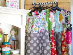 By Jody Pearl of sew outside the lines. YOU CAN MAKE THIS DRESS!