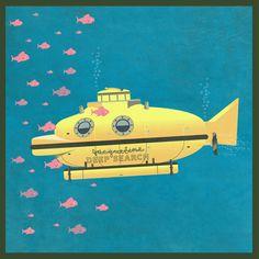 Jacqueline (The Life Aquatic) Art Print