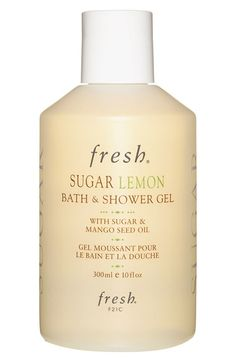 fresh sugar lemon bath & shower gel - this one smells SO good! http://rstyle.me/n/t4m85nyg6