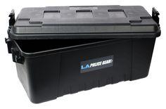 LA Police Gear 68 Quart Black Trunk