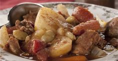 Hungarian Beef Stew Makes One Cozy Meal! - Page 2 of 2 - Recipe Roost Recipe Roost, Cozy Meals, One Pot Meals, Hungary, Crockpot, The Cure, Beef Stews, Food And Drink, Cooking Recipes