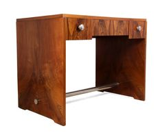 Decorative and functional, Art Deco desks are the perfect addition to any home or office. Browse our range of original writing tables, desks & bureaus. Art Deco Desk, Art Deco Furniture, Retro Furniture, Antique Furniture, Antique Desk, Mid Century Modern Design, Mid Century Furniture, Repurposed, Desks
