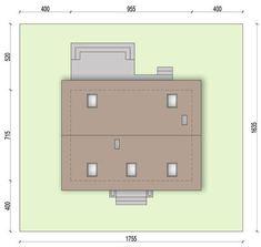 DOM.PL™ - Projekt domu ARN CYNAMON CE - DOM RS1-29 - gotowy koszt budowy House Styles, Diana, Home Decor, Houses, Decoration Home, Room Decor, Home Interior Design, Home Decoration, Interior Design