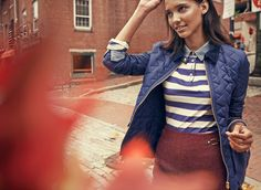 More than a cover-up, Tommy Hilfiger's fall jacket brings out the best in your outfit.